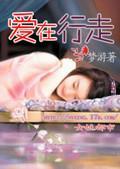 《爱在行走》小说封面