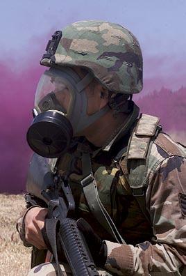 过滤式防毒面具怎样达到防毒目的?