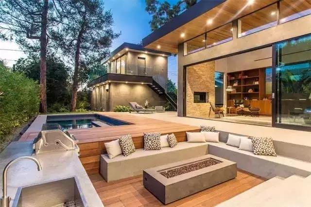 别墅的庭院设计,下沉也可以很美哦!