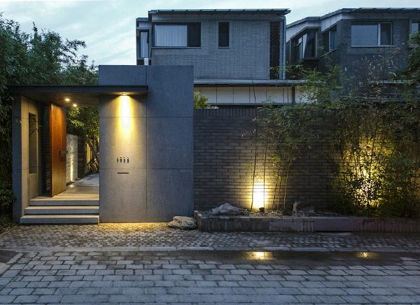 别墅的庭院设计,为你带走雨水的烦恼!